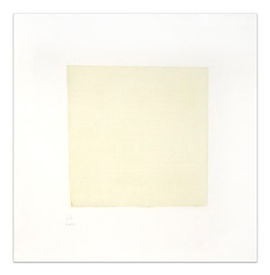 untitled [2] (from seven aquatints) by robert ryman
